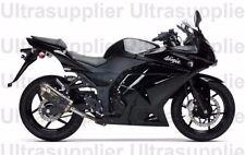 Gloss Black Complete Injection Fairing for 2008-2012 Kawasaki Ninja 250R EX250