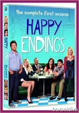 HAPPY ENDINGS - COMPLETE SEASON 1 **BRAND NEW DVD **