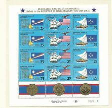 1990 Free Association  Mini Sheet  Complete MUH/MNH as Issued