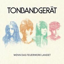 TONBANDGERÄT - WENN DAS FEUERWERK LANDET  CD NEW+
