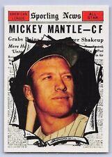 "1961  MICKEY MANTLE - Topps ""ALL STAR  REPRINT"" Baseball Card # 578 - N.Y. YANKS"