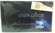 Directv HD DVR RECEIVERS User Guide (June 2013) - New/Unopened - 0613HDDVRUSR