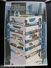 70's Baxter Building Comic SDCC Exclusive art print poster Marvel Fantastic 4
