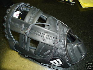 "WILSON A2000 FASTPITCH FIRST BASE (1B) MITT WTA2802FPB11SS 12.25"" - LH $259.99"