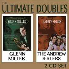 GLENN MILLER/THE ANDREWS SISTERS - THE ULTIMATE DOUBLES NEW CD