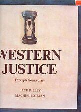 JACK RIELEY western justice HOLLAND EX LP SOC   1975