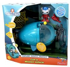 NEW Disney Jr Fisher-Price Octonauts Gup A Deluxe Mission Vehicle Barnacles MIB