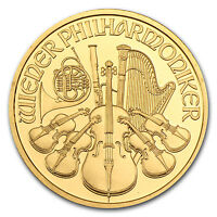 1996 Austria 1 oz Gold Philharmonic BU - SKU #74669