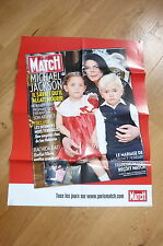 MICHAEL JACKSON !!PARIS MATCH!!RARE FRENCH PROMO POSTER