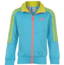 Adidas SportJacke, Modejacke, Mädchen neon turkis Gr. 116 NEU