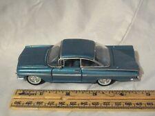 1:43 Die Cast ~ Road Champions ~ 1959 Chevrolet Impala ~ Metallic  Blue