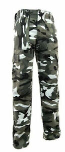 Urban Camo Combat Trousers Military Work Camouflage Hunting Fishing