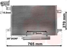 Kondensator, Klimaanlage für Klimaanlage VAN WEZEL 30005382