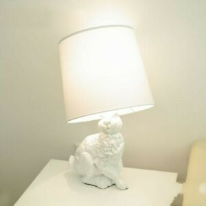 New Modern Rabbit Table Lamp LED Desk Lamp Bedroom Bedside Reading Lighting