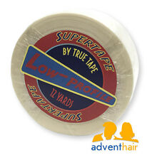 "TRUE TAPE SuperTape Super Low Profile Roll 1"" x 12 yards wig hairpiece"