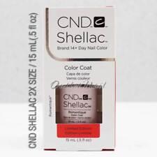 Limited LARGE CND Shellac Gel Polish BIG SIZE 0.5oz 15ml Pick ANY Color Base Top