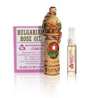 100% Pure Bulgarian Rose Oil Otto Bulgarian Rose Damascena Attar 1 gr Certified