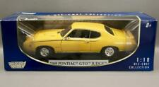 "1969 PONTIAC GTO ""THE JUDGE"" IN YELLOW • 1/18 SCALE MOTOR MAX"