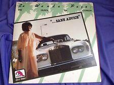 Original Jazz LP : La Wanda Page ~ Queen of Comedy ~  Sane Advice ~ Laff A205