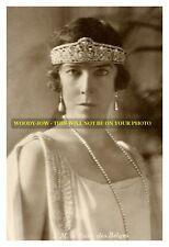 """mm599 - Queen Elisabeth of Belgium wears tiara - Royalty photo 6x4"""""""