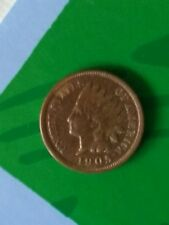 1905 Indian Head Penny - Ungraded - Excellent Red/Brown Coloring