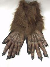 Werewolf Brown Gloves  Paws  Wolf  Monster  one size  Halloween