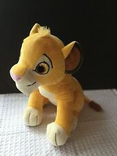 The Lion King Simba Plush Kohl's EUC Stuffed Animal Lion Guard