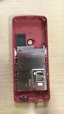 New Genuine Original Nokia 6300 Red Rear Chassis Fascia Housing Cover
