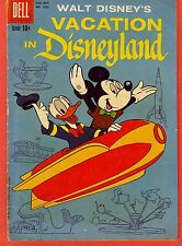 VACATION IN DISNEYLAND (Walt Disney's) Four color #1025 (#1), Dell, 1959