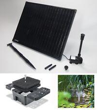50W Solarpumpe Teichpumpe Gartenteichpumpe Solar Pumpenset Teichfilter Filter *