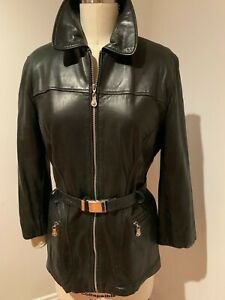 Vintage Saks Fifth Ave. Soft as Butter Leather Jacket Great Condition Women's M