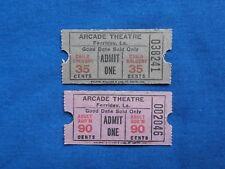2 Vintage Arcade Theatre Tickets - Ferriday, Louisiana (Drive-In Movie/Cinema)