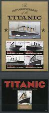 St. Vincent Bequia 2012 Titanic Schiff Ship Katastrophe Navi Bateaux MNH