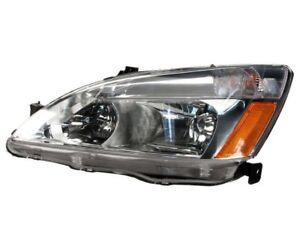 NEW Driver Left Genuine Headlight Headlamp Assembly For Honda Accord 03-07