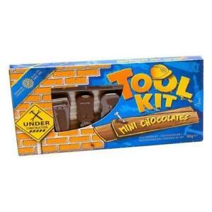 Novelty Milk Chocolate Mini Tool Kit 90g Ideal Stocking Filler Gift