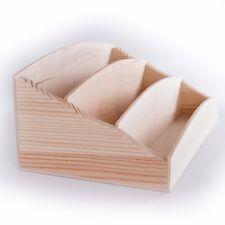 Tabella in legno Lettera Scrivania Vassoio per Rack POST Organizzatore Titolare non associate Sorter