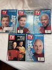 TV Guide STAR TREK Turns 30 Collectors 4 Set Series 96 + Bonus Kirk Vs Picard 91