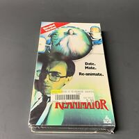 Bride of Re-Animator (VHS, 1989) Unrated Version Horror Rare Brand New Sealed FS