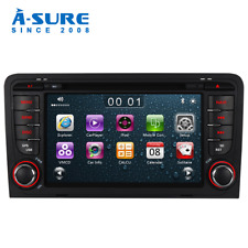 "7""Car Radio Stereo DVD GPS 2020 Navi Bluetooth MP3 for Audi A3 RS3 8V 8P 8PA RDS"