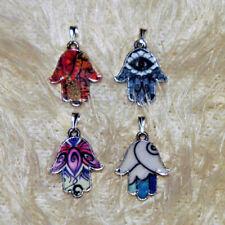 Nazat mano de Fatima Hamsa remolque esmaltes multicolor
