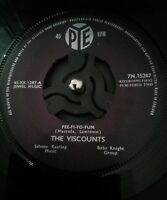 "The Viscounts Fee-Fi-Fo-Fum 7"" Vinyl UK PYE 7N.15287 1960 Excellent"