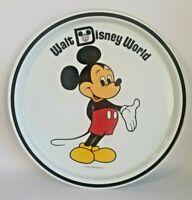Vintage 1970's Walt Disney World Mickey Mouse Tin Plate