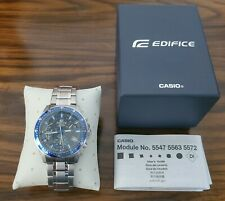 CASIO EFV540D-1A2 Edifice Chronograph Mens Subdial Solid Stainless Steel