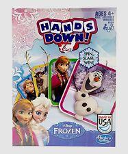Disney Frozen Hands Down! le Spin, Slam, Win KIDS jeu 4+ ans neuf Hasbro