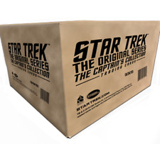 Star Trek The Original Series Captains Collection Factory Sealed 12 Box CASE TOS