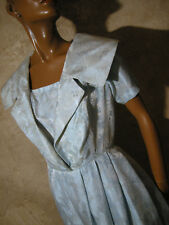 CHIC VINTAGE ROBE 1950 TRUE VTG DRESS 50s KLEID 50er ABITO ANNI 50 RETRO ( 38 )