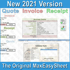 More details for invoice receipt quote, invoice template, invoice generator, excel spreadsheet uk
