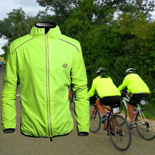 Para Hombre Chaqueta De Ciclismo Bicicleta Chaqueta/Cazadora/IMPERMEABLE Secado Rápido Verde Bici ropa