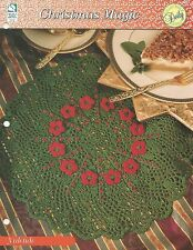 Yuletide Centerpiece Doily Crochet Pattern - Christmas Magic HOWB Series