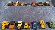 Vintage 70s 80s Toy Cars (Lot Of 14) 7 Hot Wheels 4 Matchbox 2 Tomy + Darda Jeep